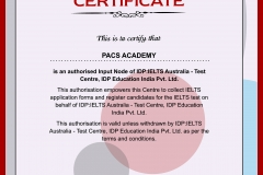 IDP Authorized certificate